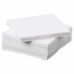 Plain White Tissue Napkin
