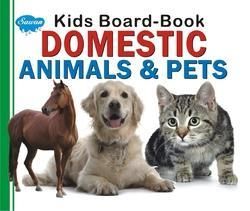 Kids Board Book Domestic Animals