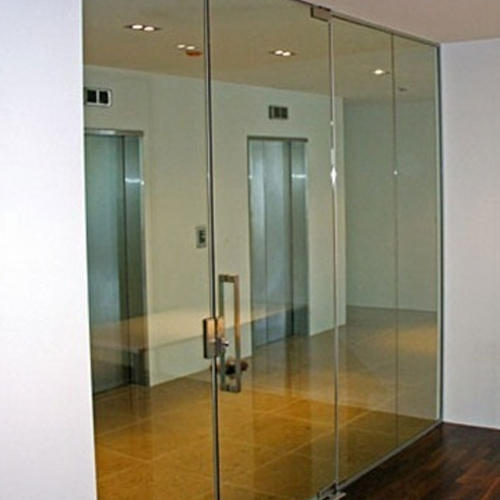 Frameless Glass Door At Rs 500 Square Feet Industrial Area Phase