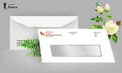 Printed Paper Window Envelopes