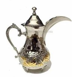 Golden Designer Moroccan Tea Pot/Coffee Pot