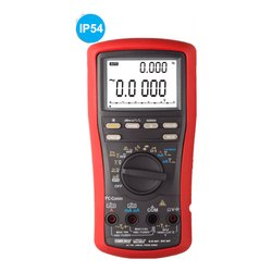 500,000 Counts Autoranging True RMS Digital Multimeter with VFD Feature and PC Interface