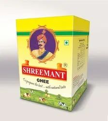 Cool And Dry Place Shreemant 5kg Pure Ghee, For Cooking, Packaging Types: Tin