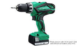 Cordless Drill/Driver 14.4V DS14DJL(Li-ion, Ah Compatible Batteries), DS14DJL