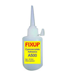 Industrial Grade Fixup A500 High CPS Glue, 20gm