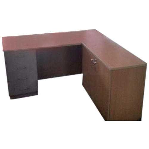 L shape office table Late Design Office Wooden Shape Office Table Indiamart Wooden Shape Office Table Wood Office Tables लकड क