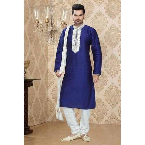 a632d83ee5 Cotton Party Wear Mens Designer Kurta Pajama, Size: 38, Rs 1550 /set ...