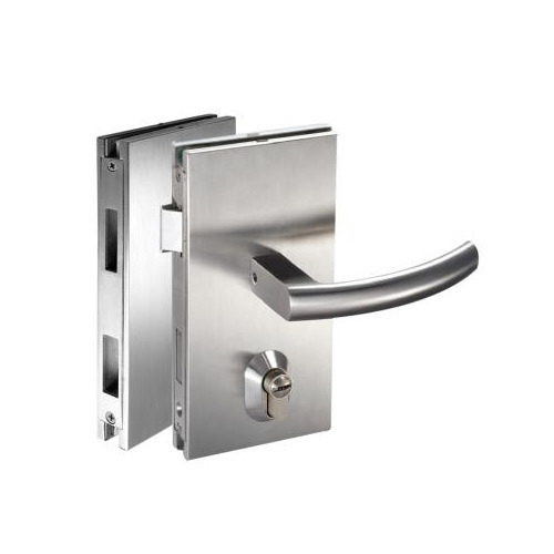 Glass Door Lock With Latch Bolt Glass Door Locking System Office
