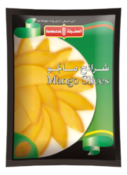 Mango Slice Packaging Pouch