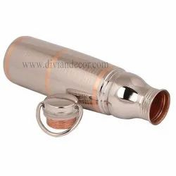 Pure Copper Bottle with Cap Handle