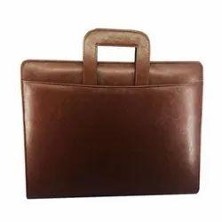 Leather Laptop Cum Office Organiser Bag