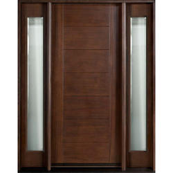Sepal Wooden Door