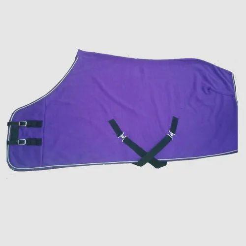 Purple Plain Polar Fleece Horse Rug Rs