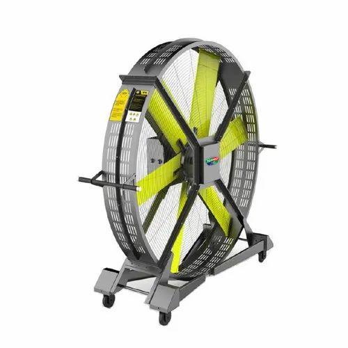 Gym Fan Neon Green