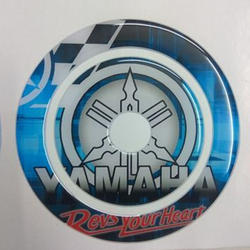 Pu Dome Sticker, Packaging Type: Packet
