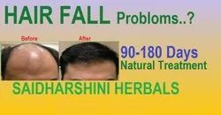 Hair Loss Problom Come With Us Saidharshini Herbals