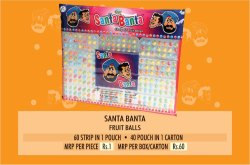 Santa Banta Fruit Ball