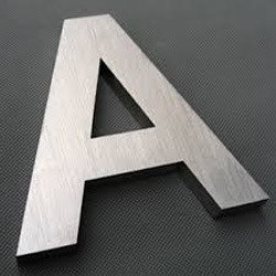 Stainless Steel 304 Letter