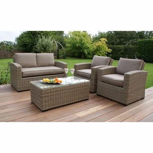 Rattan Sofa Set At Rs 150000 Set Furniture Block Delhi Id