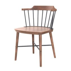 Industrial Wooden Dinning Chair