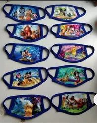 Disney World Cotton Face Masks For Kids, Childrens