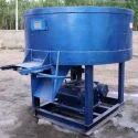 Pan Type Concrete Mixer Machine