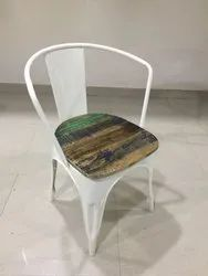 Awesome Armrest Chair Wit Wooden Top