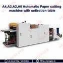 A4,A3,A2,A0 Automatic Paper Cutting Machine With Belt