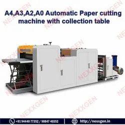 A4, A3, A2, A0 Automatic Paper Cutting Machine With Belt