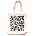 Bottom Gusset Printed Cotton Bag
