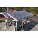 Petrol Pump Solar Panel