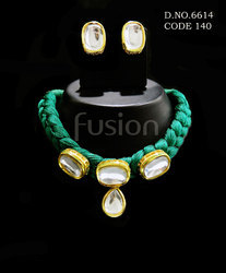 Antique Designer Kundan Necklace Set