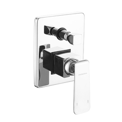 Wall Mixer 3 in 1 With Provision for Both Telephone Shower