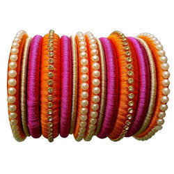 Multi Color Thread Bangle