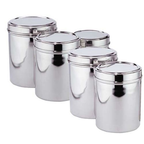 SS Storage Container Set at Rs 200 kilogram Stainless Steel