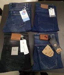 Plain Comfort Fit Mens Designer Jeans