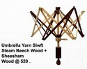 Umbrella Yarn Swift with Base