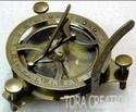 "Vintage Antique 4.5"" Sundial Compass"