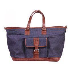 Denim Hand Bag