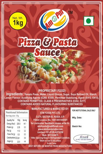 Hot & Herby Red Hot Pizza Pasta Sauce, Packaging Size: 1 Kg Evoh Pouch, Italian