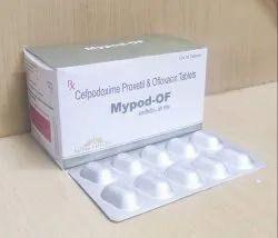 Cefpodoxime 200mg Ofloxacin 200 mg Tablets