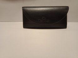 Black Genuine Leather Sunglass Case