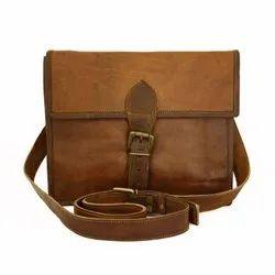 Single Belt Vintage Handmade Genuine Leather Handbag