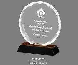 Round Acrylic Trophy