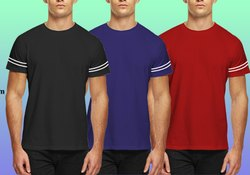 Cotton Casual Wear Men's Casual T-Shirt