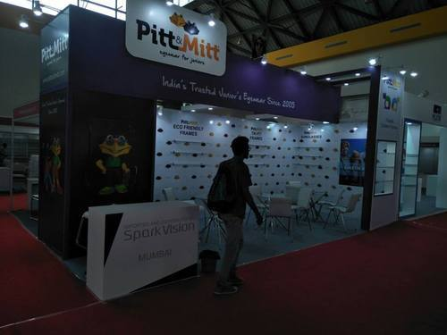 Exhibition Stall Fabricators In Lucknow : Exhibition stall designers and contractors in south extension ii