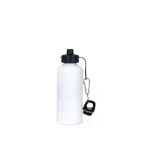 ec0511a7f7 White, Black Plain Water Bottle, Capacity: 750 Ml | ID: 16514505597