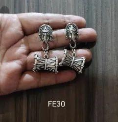 Ganeshs Brass Ladies Stylish Earring