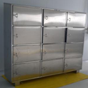 SS Apron Cabinet With Locker