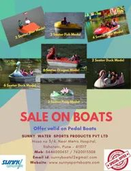 Sale on Pedal Boats